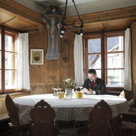 Auberge-restaurant Postgasthof Gemse à Zams, © Tirol Werbung/Verena Kathrein