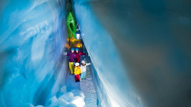 Monde d'expériences du glacier de Hintertux, © Archiv TVB Tux-Finkenberg