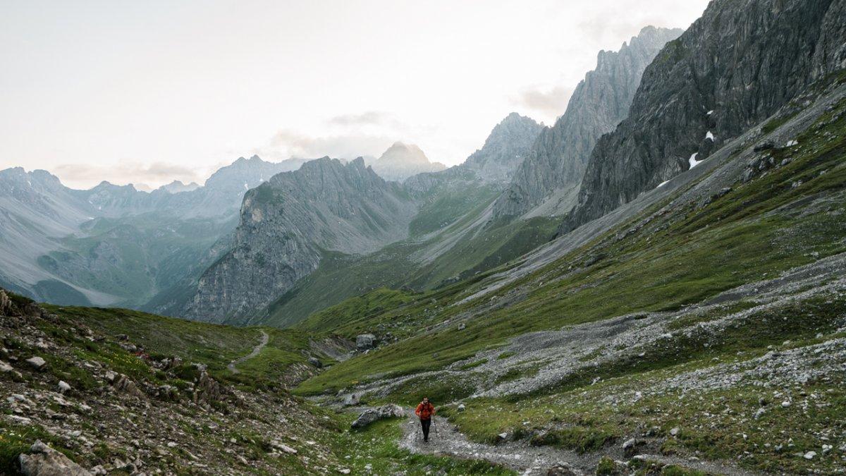 Montée vers la Steinseehütte