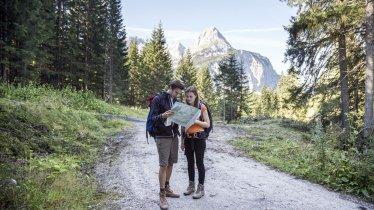 Randonnée dans la Gaistal, © Tirol Werbung/Dominik Gigler