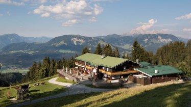 L'alpage d'Angerer Alm près de St. Johann in Tirol