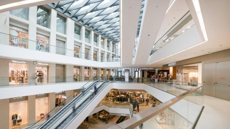 Le centre commercial Kaufhaus Tyrol, © TVB Innsbruck