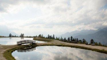 Lac de barrage près de l'alpage de Mutterer Alm, © Tirol Werbung/Frank Bauer