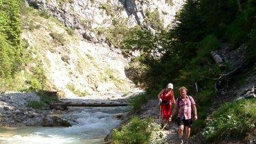 Les gorges de Gleirschklamm, © Olympiaregion Seefeld
