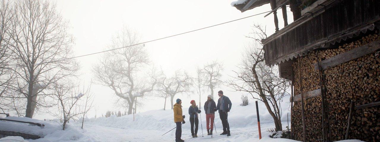 Randonnée hivernale autour de St. Johann