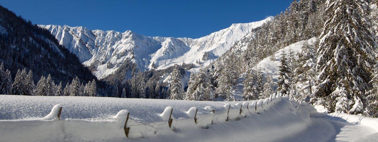 Randonnée hivernale Achenkirch – vallée d'Oberautal, © Achensee Tourismus