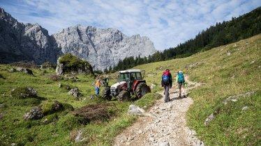 Étape 09 de la Voie de l'Aigle, © Tirol Werbung/Dominik Gigler
