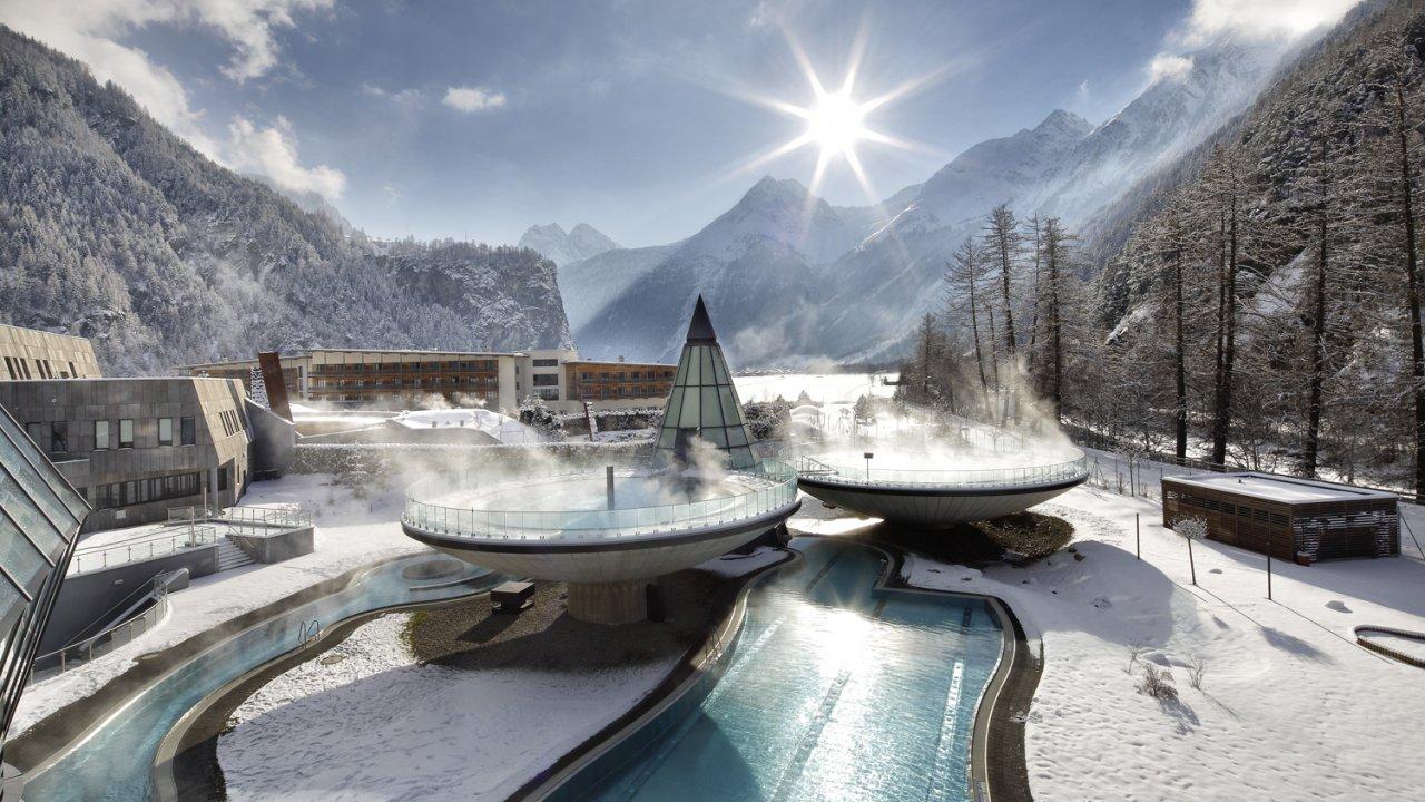 L'Aqua Dome en hiver, © Aqua Dome