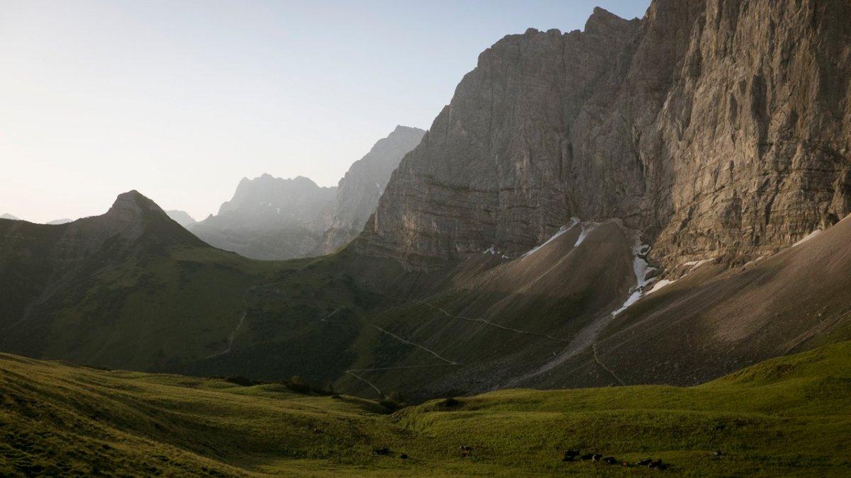 La Voie de l'Aigle : le massif de Karwendel, © Tirol Werbung