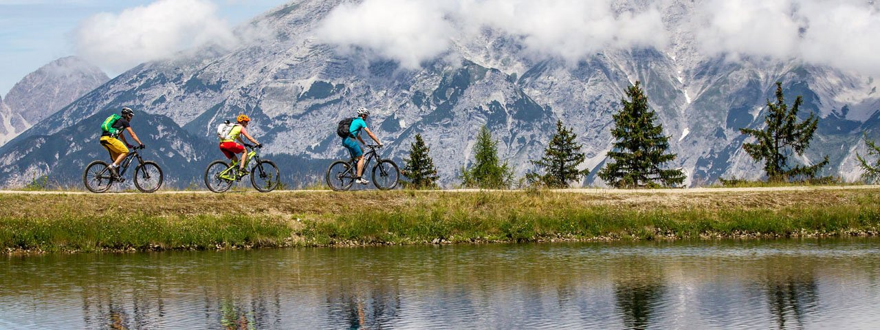 VTT au refuge de Mutterer Alm, © Tirol Werbung