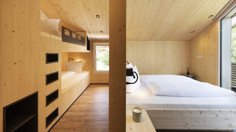 Maison de vacances au glacier de Stubai : Haus Dorf, la chambre, © Andre Schönherr
