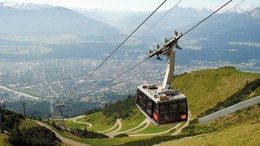 La chaîne de montagnes Nordkette d'Innsbruck, © Nordkette Innsbruck