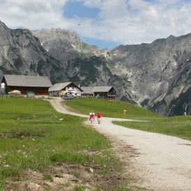 L'alpage Walderalm dans le Karwendel, © Irene Prugger
