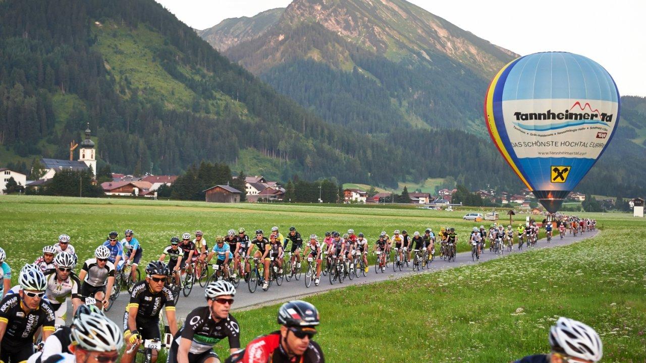 Le marathon cycliste de la Tannheimer Tal, © Radmarathon Tannheimer Tal