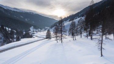 Paysage hivernal dans la vallée de Gschnitztal, © Tirol Werbung/W9 studios