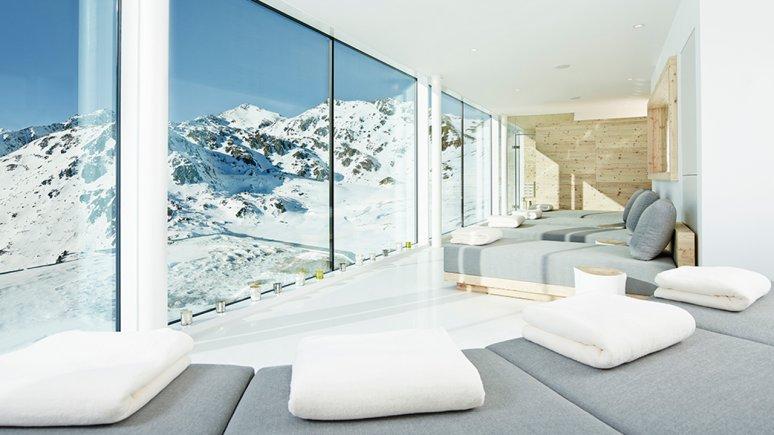 Espace bien-être du chalet Kristallhütte, © Kristallhütte