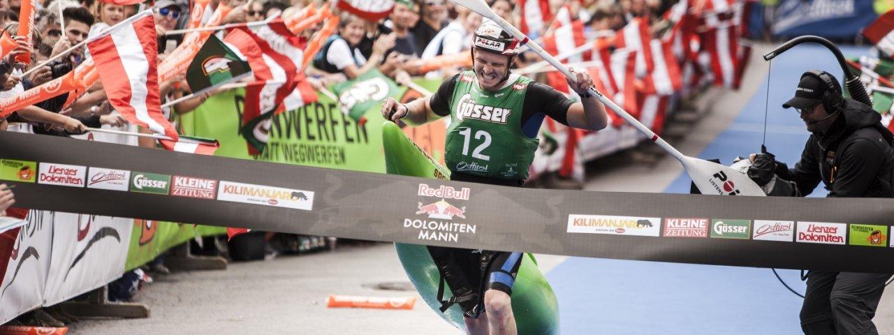 La compétition Dolomitenmann de Lienz, © Red Bull