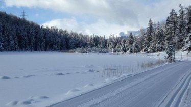 Randonnée hivernale du lac de Schwarzer See, © TVB Nauders