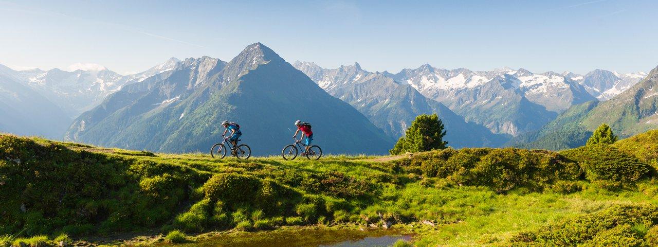 VTT dans la vallée de Zillertal, © Fonny Kiaulehn
