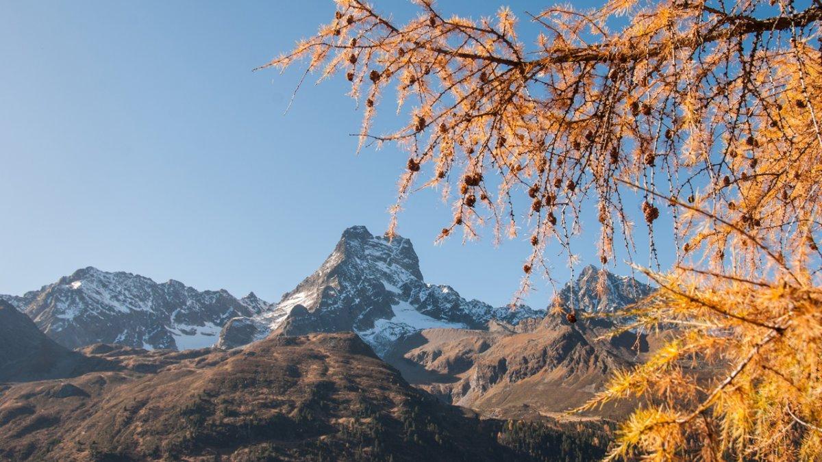 L'automne dans la vallée de Pitztal, © Jannis Braun