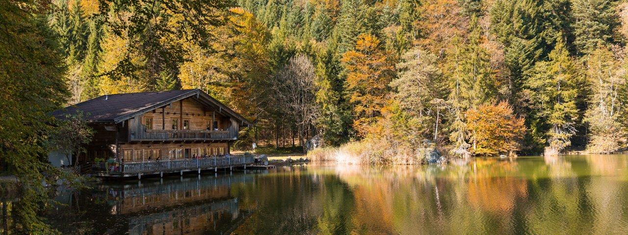 Le lac Berglsteiner See, © Tirol Werbung