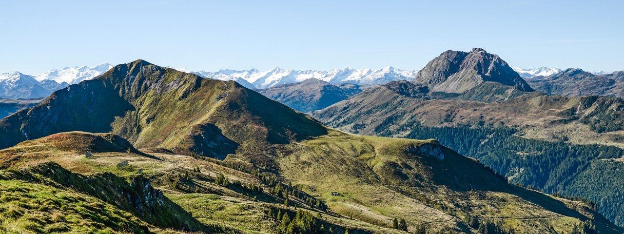 Chemin de grande randonnée KAT-Walk dans les Alpes de Kitzbühel, © PV Werbung und Marketing/Peter Vonier