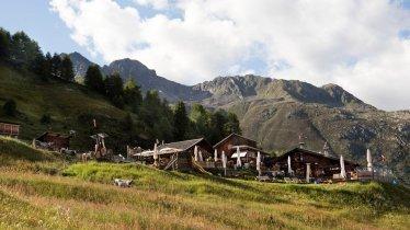 La Gampe Thaya dans les Alpes de l'Ötztal