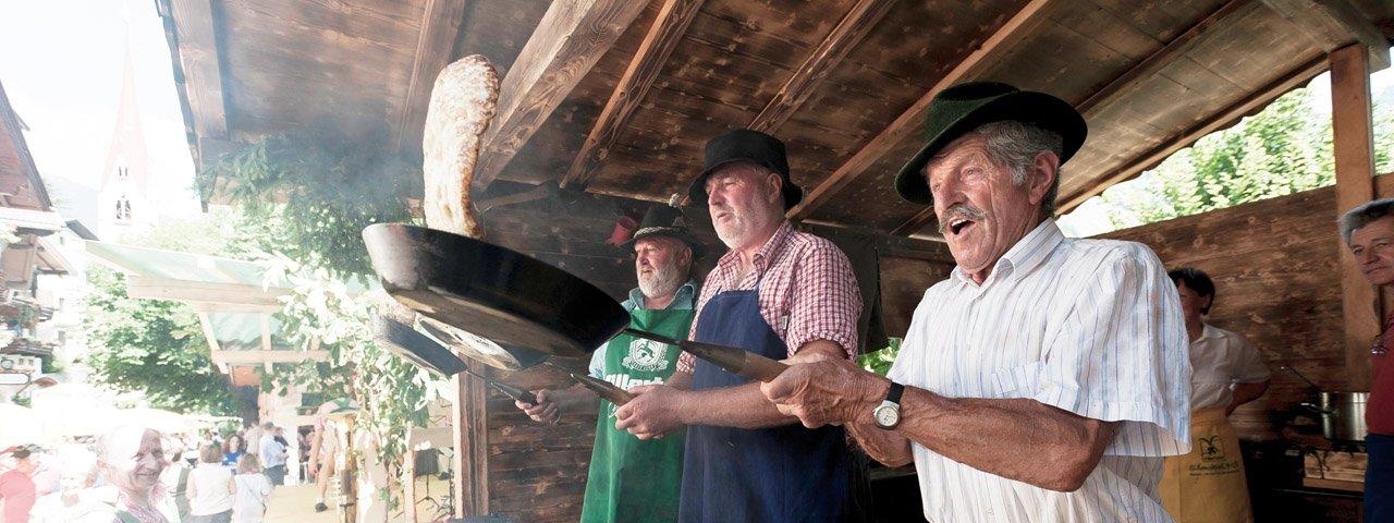 La fête des beignets de la Zillertal - Schwendau, © Norbert Freudenthaler