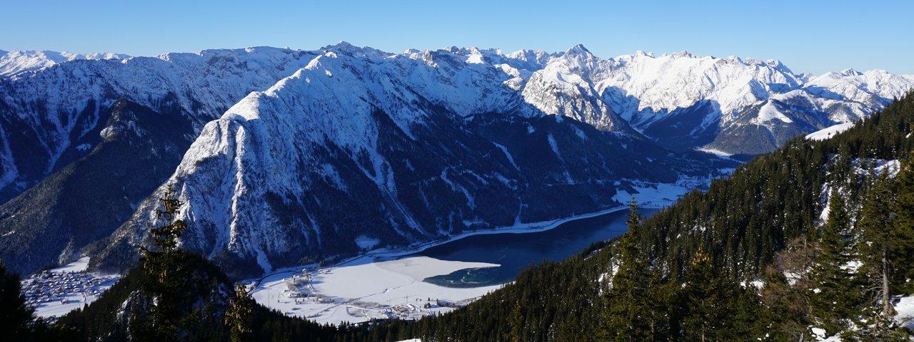 Randonnée hivernale d'altitude au Rofan, © Achensee Tourismus