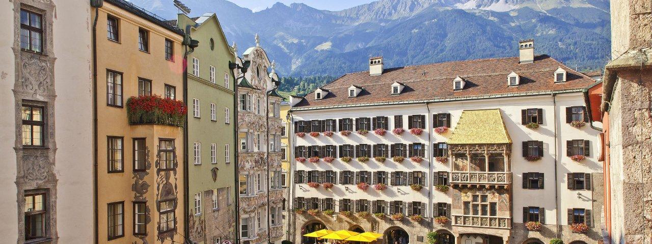 Vieille ville d'Innsbruck, © Innsbruck Tourismus