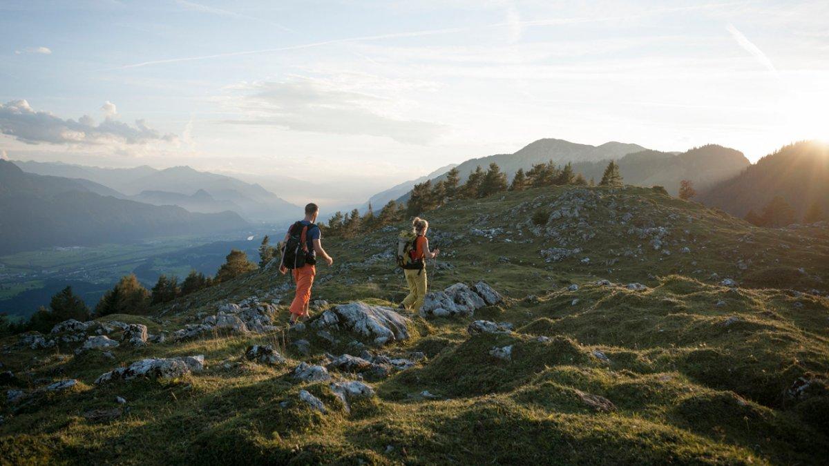 La Voie de l'Aigle : étape dans les Alpes de Brandenberg, © Tirol Werbung