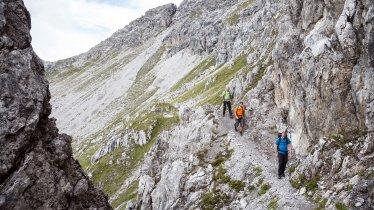 Voie de l'aigle étape 23 : Alpes de Lechtal, © Tirol Werbung/Dominik Gigler