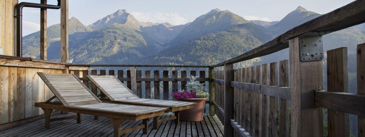 Espace bien-être à l'hôtel Bio Holzleiten d'Obsteig, © Hotel Holzleiten