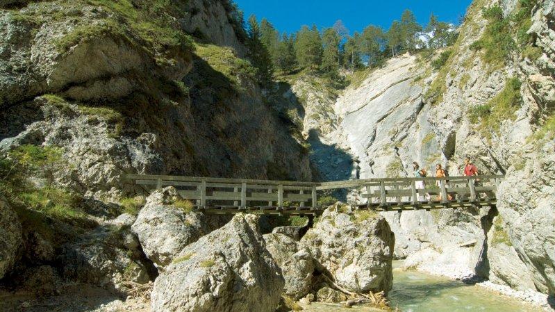 Gorges de Gleirschklamm, © Olympiaregion Seefeld