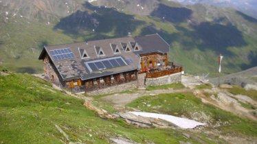 Étape O5 de la Voie de l'Aigle : Le refuge Badener Hütte, © Badener Hütte