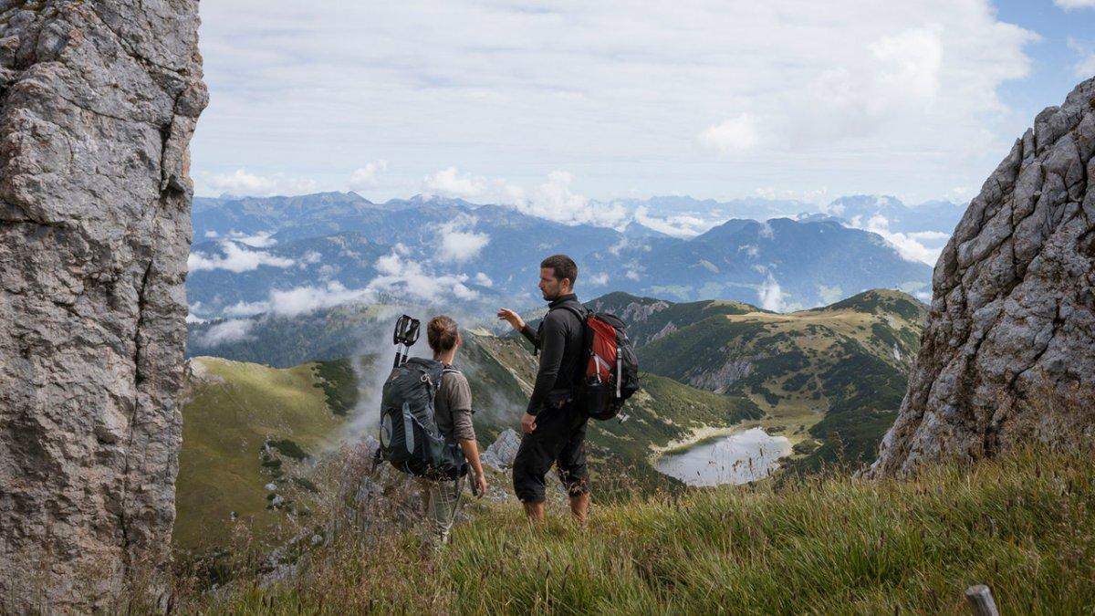 Randonnée dans les Alpes de Brandenberg, © Tirol Werbung/Jens Schwarz