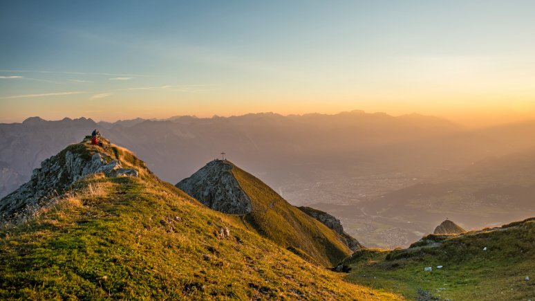Lever de soleil sur la Nockspitze, © Innsbruck Tourismus