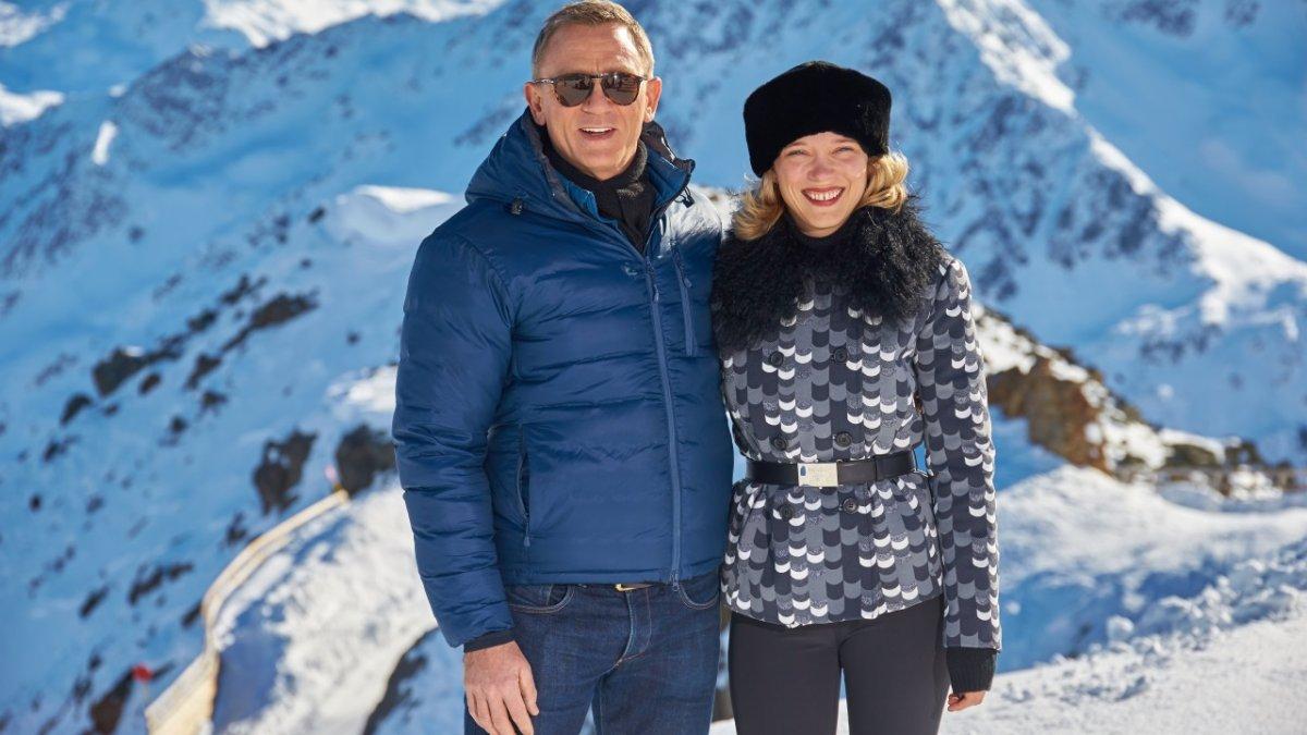 Daniel Craig & Léa Seydoux, Sölden, © 2015 Columbia TriStar Marketing Group, Inc. and MGM Studios