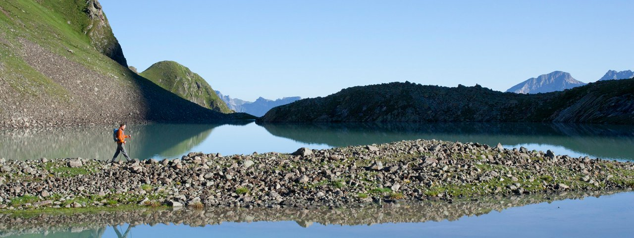 Le lac Faselfadsee, sur l'Arlberg, © Tirol Werbung/Bernd Ritschel