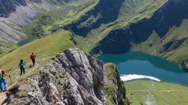 Lac Traualpsee dans la vallée Tannheimer Tal, © Tirol Werbung/Klaus Kranebitter