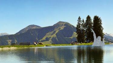 Lac de Filzalmsee à Brixen im Thale, © Bergbahnen Brixen im Thale