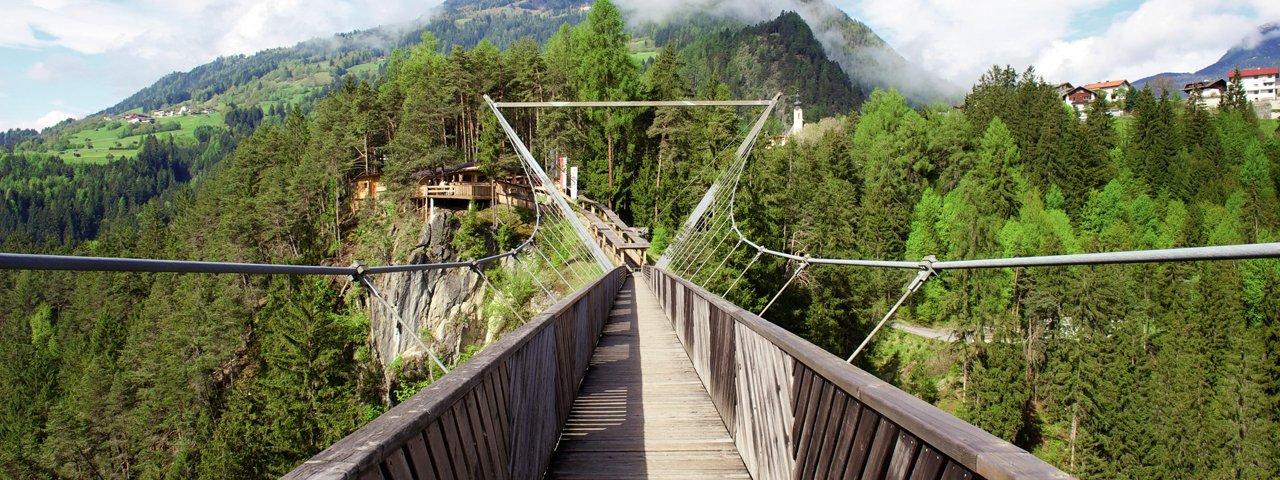 Pont suspendu Benni-Raich, © TVB Pitztal