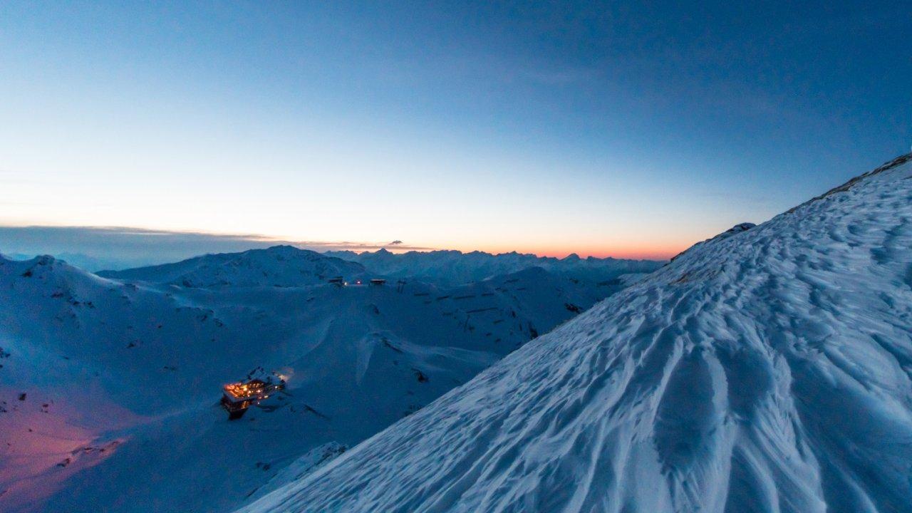 Le chalet Wedelhütte au coeur du domaine skiable de Hochzillertal, © Wedelhütte