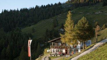 Voie de l'aigle étape 4 : Auberge de Buchacker, © Tirol Werbung/Jens Schwarz