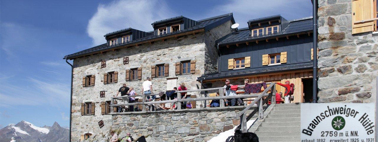 L'auberge Braunschweiger Hütte, © Braunschweiger Hütte