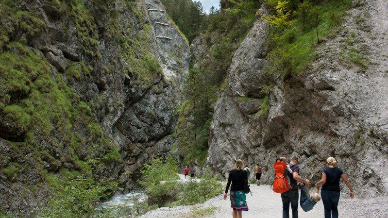 Les gorges Kundler Klamm, © Alexander Ziegler
