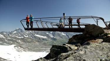 "La plateforme sommitale ""Top of Tyrol"" du glacier de Stubai, © Stubaier Gletscher/eyes5-Mirja Geh"