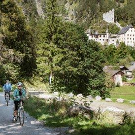 Piste cyclable de la Via Claudia Augusta, © Tirol Werbung/Frank Bauer
