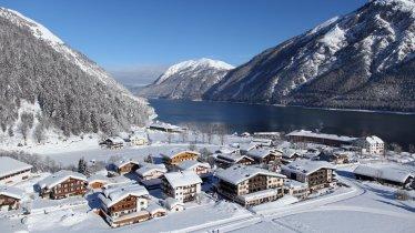 Pertisau en hiver, © Achensee Tourismus