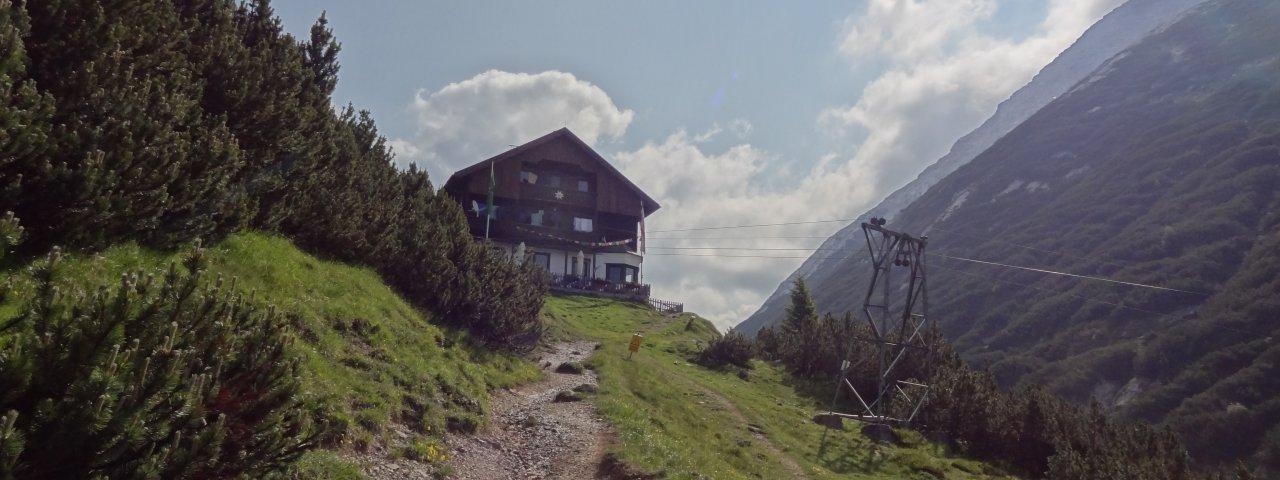 Voie de l'aigle étape 14 : Chalet de Solsteinhaus, © Tirol Werbung/Johne Katleen
